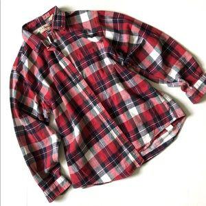 L.L. Bean Vintage Flannel Button Down